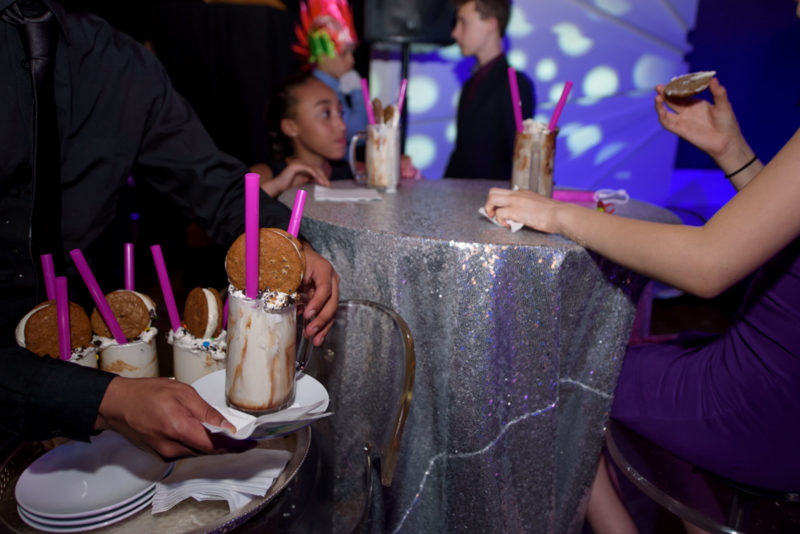 Well Dunn Catering Lauren's Bat Mitzvah Milkshakes