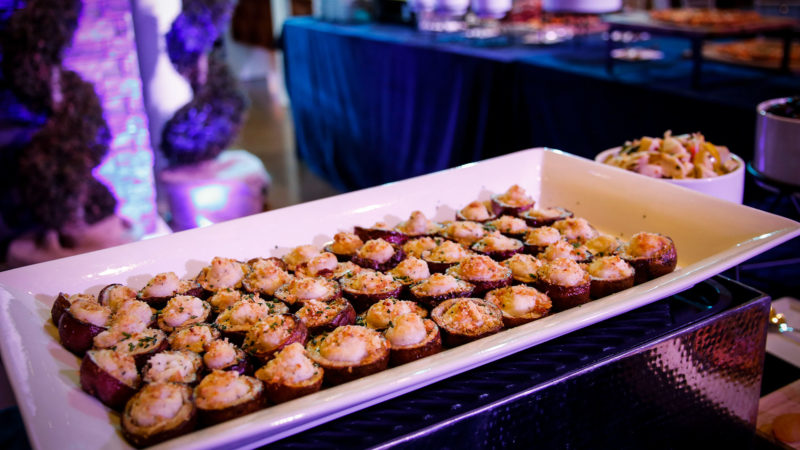 Well Dunn Catering Inauguration Appetizers