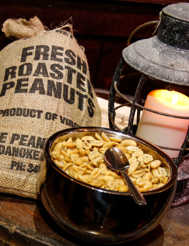 Well Dunn Catering Inauguration Fresh Roasted Peanuts